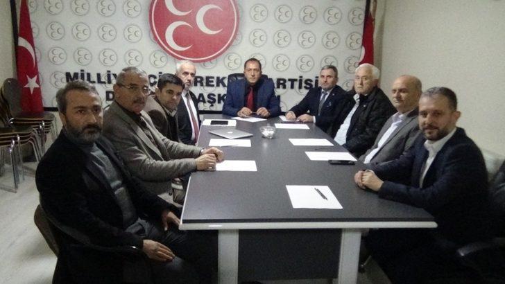 Siyasi parti il başkanları bir araya geldi