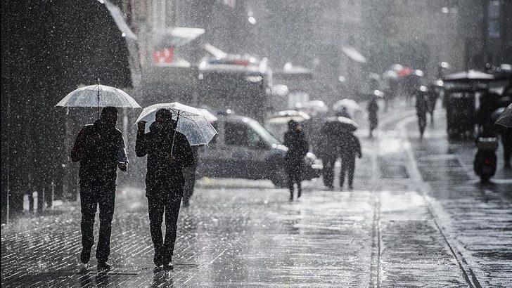 Meteoroloji'den açıklama: Sıcaklıklar düşüyor, kar ve sağanak yağmur geliyor