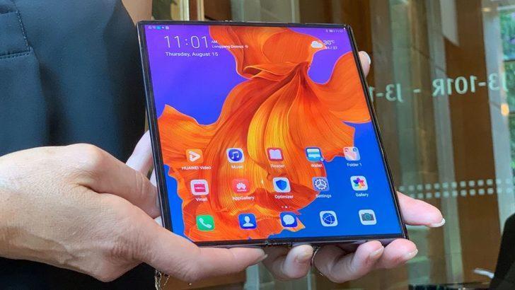 Huawei Mate X'ten 'yok artık' denilecek başarı!