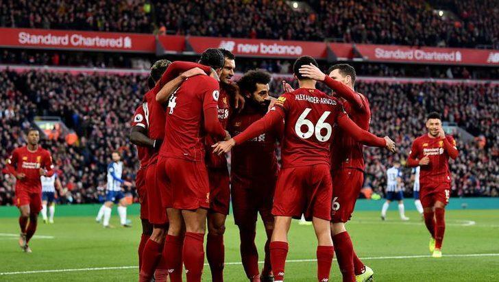 Liverpool - Brighton maç sonucu: 2-1