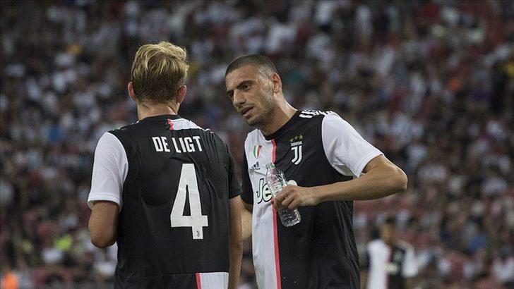 Juventus'tan flaş Merih Demiral ve De Ligt kararı