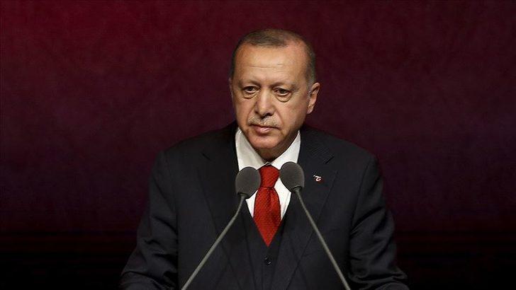 Cumhurbaşkanı Erdoğan, Filistin Devlet Başkanı Mahmud Abbas ile görüştü