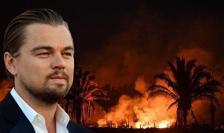 Leonardo DiCaprio, Brezilya Devlet Başkanı'na yanıt verdi