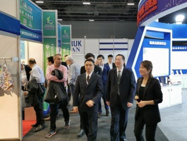 Fujian, İstanbul'da ürünlerini tanıttı