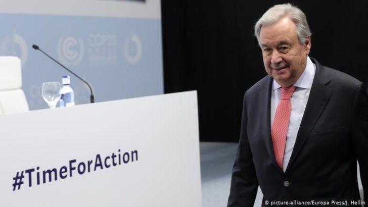 Guterres BM İklim Konferansı'nı açtı