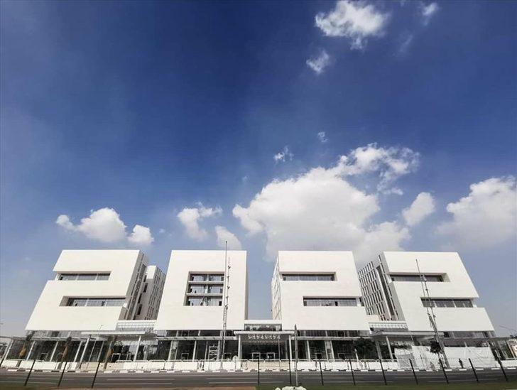 """Katar'dan, Dünya Kupası'na özel """"2022"""" şeklinde bina"""