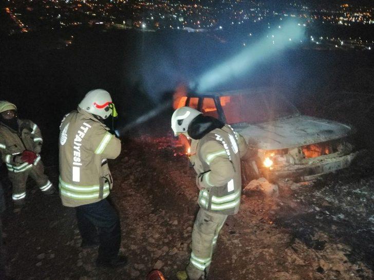 İstanbul'da ormanlık alanda patlama sesleri!