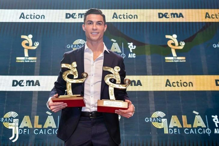 Serie A'da yılın en iyi futbolcusu Ronaldo