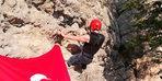 Engelli sporcu dağcılığa başladı, zirveye tırmandı