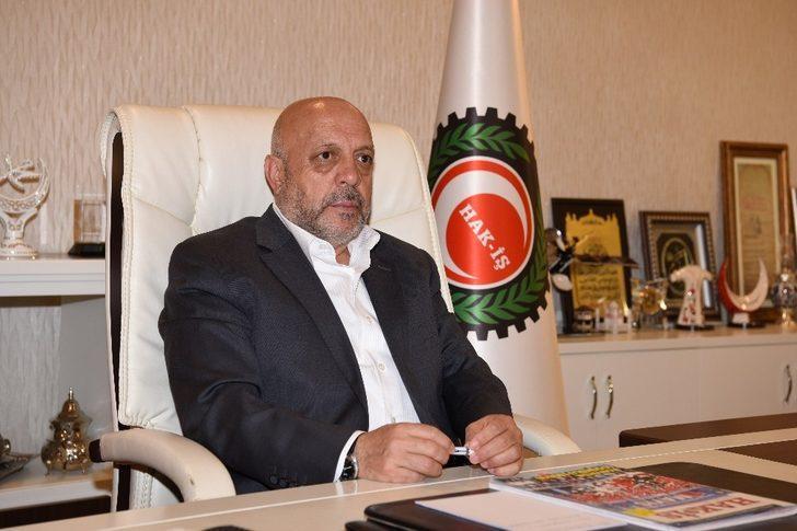 HAK-İŞ Genel Başkanı Arslan'dan Dünya Engelliler Günü mesajı