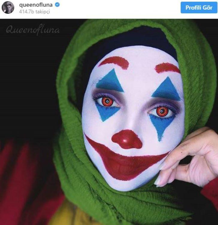 Tesettürlü makyaj sanatçısı yeteneğiyle büyülüyor!