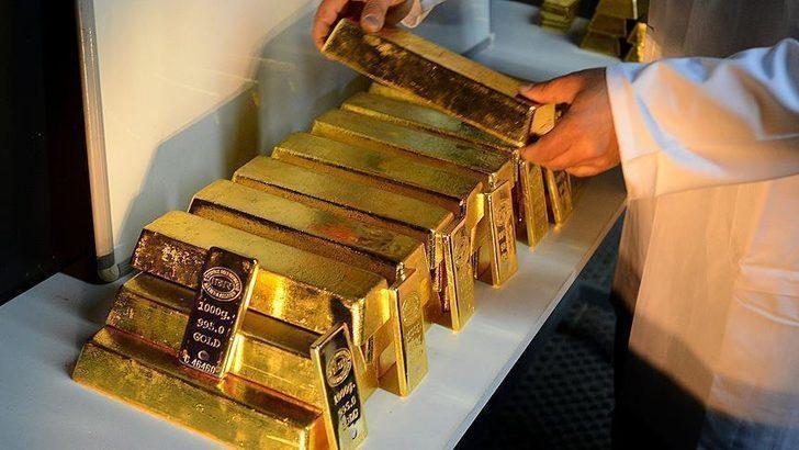 Londra'dan gizli altın nakli: 100 ton ağırlığında 8000 adet