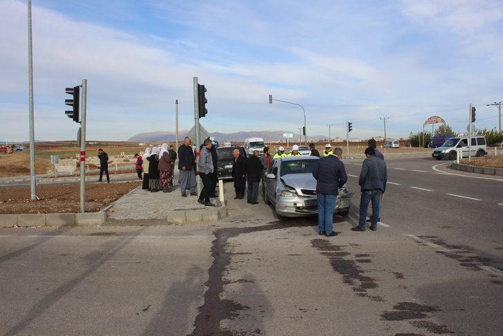 Adıyaman'da kaza: 6 yaralı