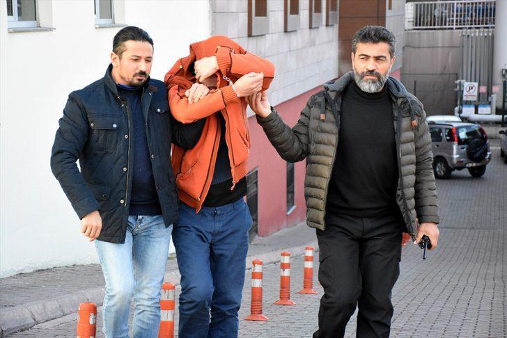 Kayseri'de çaldığı forklifti hurdacıya satan şüpheli tutuklandı