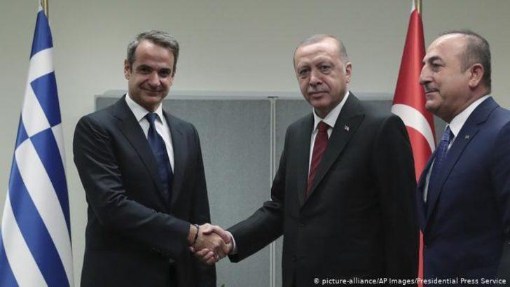 Erdoğan ile Miçotakis deniz yetki alanı sorununu görüşecek