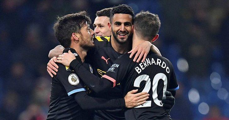 Manchester City 4- 1 Burnley (Maç sonucu)