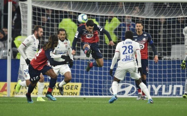 Lille 1-0 Lyon (Maç Sonucu) Lille, Lyon'u deplasmanda tek golle yıktı!