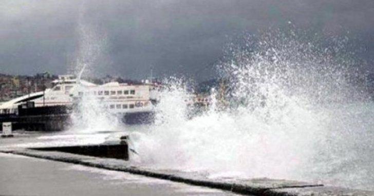 Bursa'da bazı deniz otobüsü seferleri iptal edildi