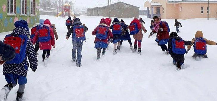 4 Aralık Ankara'da okullar tatil mi? Kar tatili olan illeri?