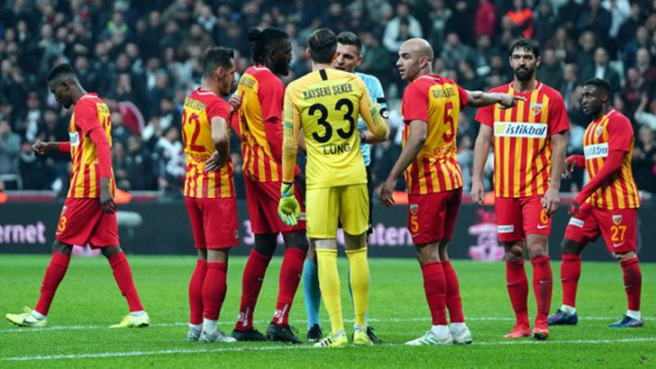 Kayserispor 4 maçta 10 gol yedi