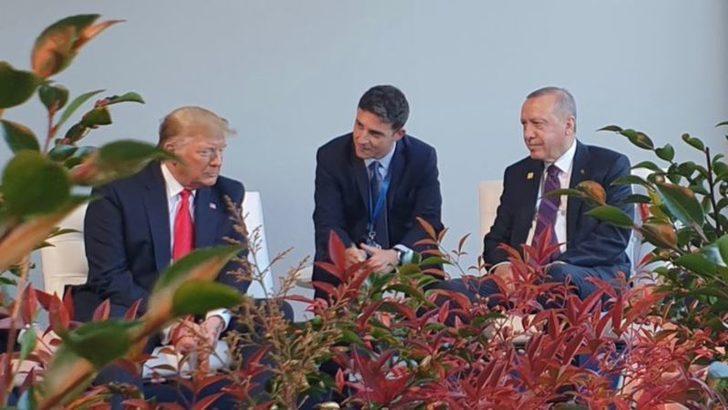 Trump ve Erdoğan NATO Zirvesinde Görüştü