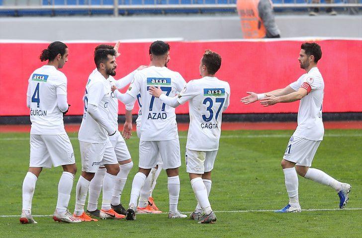 Kasımpaşa-Vanspor maç sonucu: 2-1