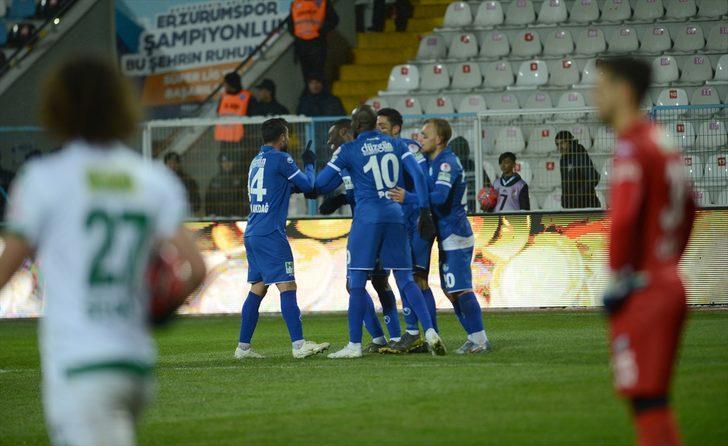 Erzurumspor-Bursaspor maç sonucu: 4-2