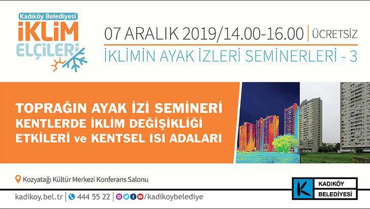 Kadıköy'ün İklim Elçileri, 'Toprağın Ayak İzi'ni sürüyor