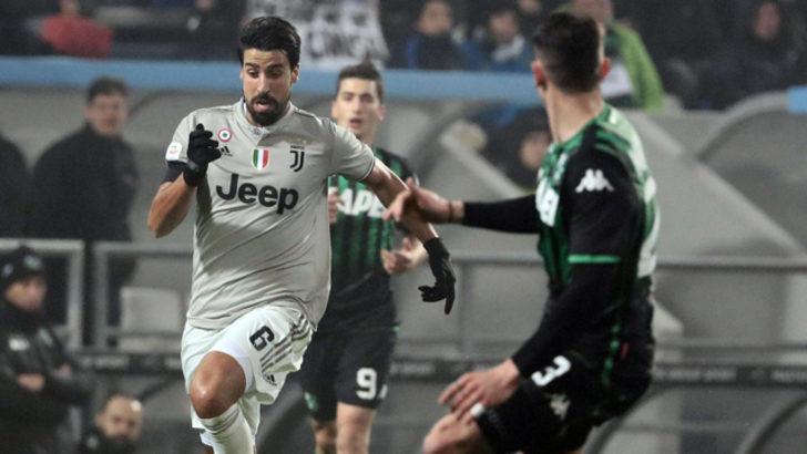Juventus'ta Khedira 3 ay sahalardan uzak kalacak
