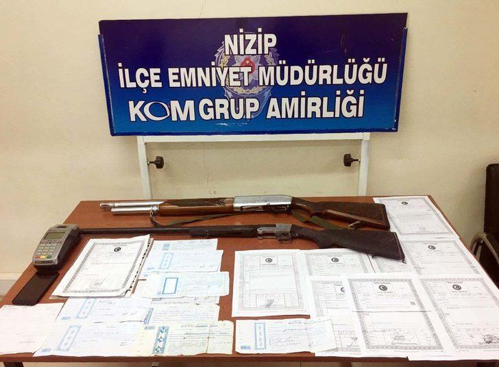 Nizip'te tefecilik operasyonu: 3 gözaltı