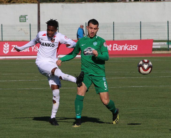 Kırklarelispor-Gaziantep maç sonucu: 2-1