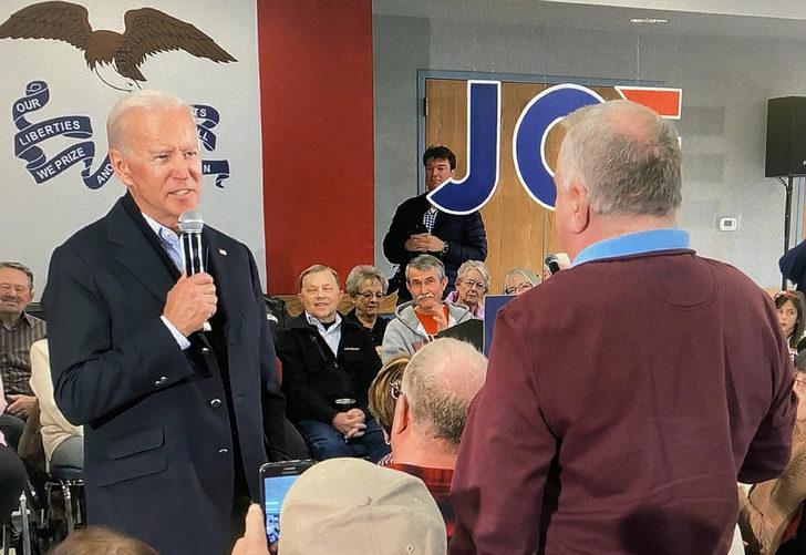ABD'de Joe Biden'ın bir seçmen ile yaşadığı gerginlik ülkede gündem oldu