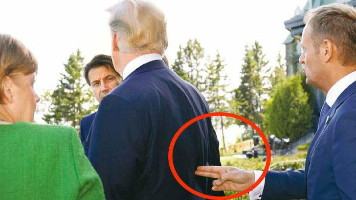 Trump'a 'silah' doğrultulan fotoğraf tartışma yarattı