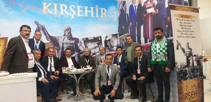 Ahiler standı Türkiye Kooperatifler Fuarında ilgi gördü