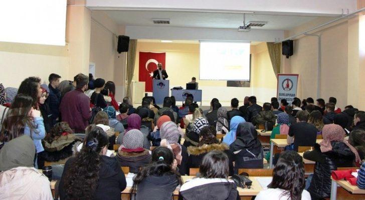 DPÜSEM Gediz MYO'da sertifika programlarını tanıttı