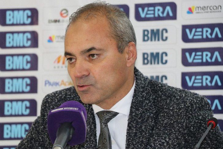 """Erkan Sözeri: """"Bugün maalesef top bizi sevmedi"""""""