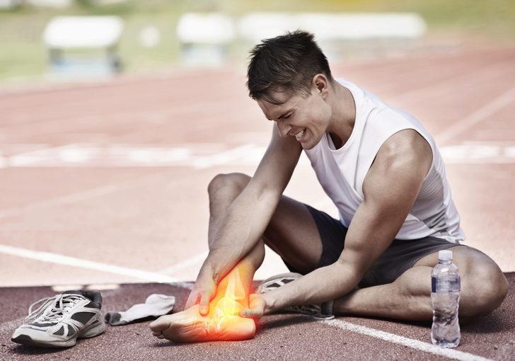 Ayak bileği sakatlanmasına dikkat!
