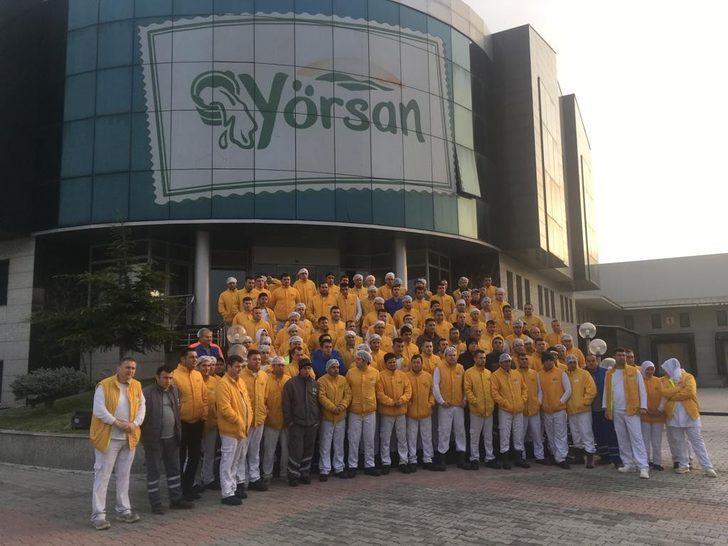 Yörsan'da kriz! Fabrika için iflas dilekçesi verilince işçiler isyan etti