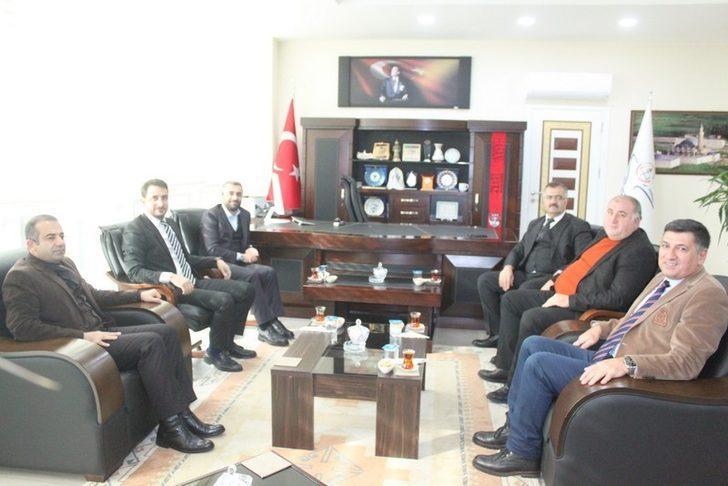 Başkan Say'dan Müdür Tevke'ye ziyaret