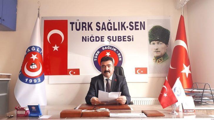 Türkiye Kamu-Sen Niğde Şube Başkanı Adnan Özer: