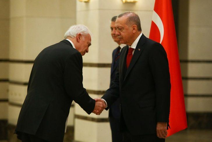 Cumhurbaşkanı Erdoğan, Yunanistan Büyükelçisini kabul etti