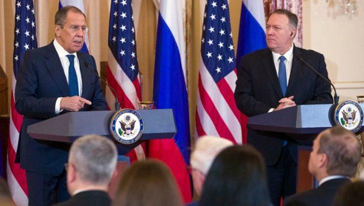 Pompeo'yla görüşen Lavrov o iddialara tepki gösterdi! 'Biz hazırdık ama Trump reddetti'