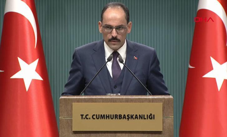 Cumhurbaşkanlığı Sözcüsü Kalın'dan Ayasofya açıklaması: Asıl soru neden 1934'te müzeye çevrildi
