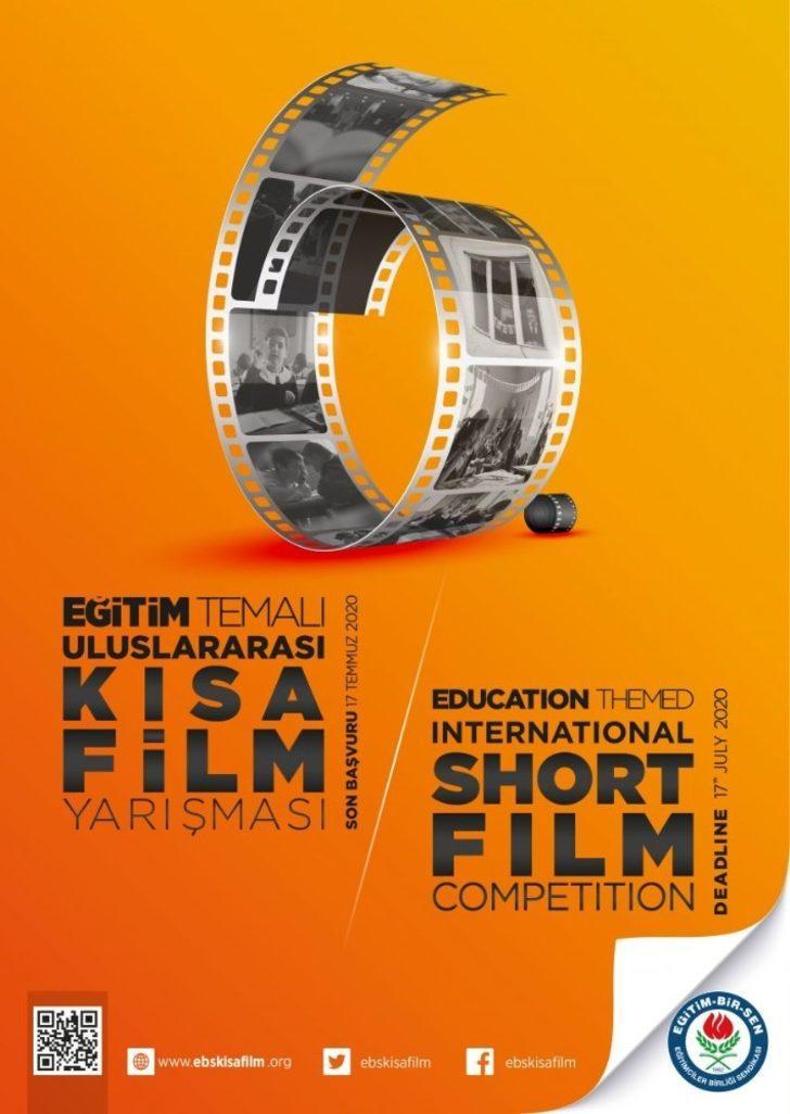 Eğitim-Bir-Sen'in kısa film yarışması uluslararası boyuta taşındı