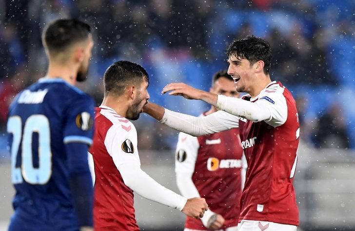 ÖZET | Slovan Bratislava-Braga maç sonucu: 2-4 (UEFA Avrupa Ligi)