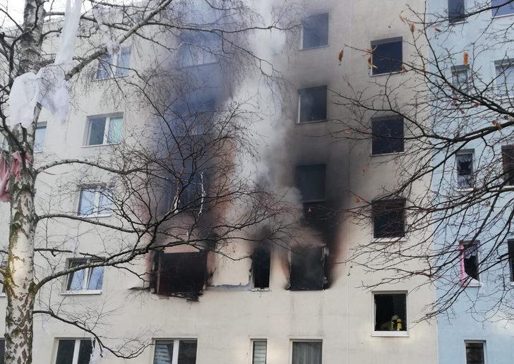 Almanya'da patlama: 25 yaralı