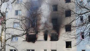 Almanya'da Bir Apartmandaki Patlamada Çok Sayıda Kişi Yaralandı