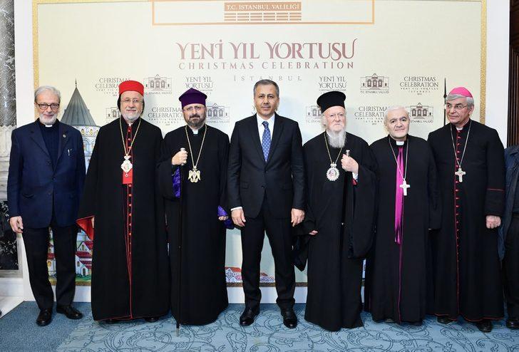 İstanbul Valiliği Yeni Yıl Yortusunu kutladı