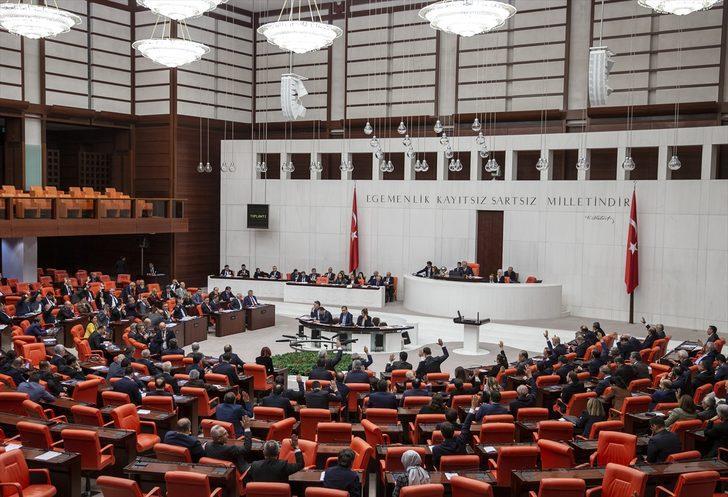 Son dakika! Libya ile askeri anlaşma Meclis'te
