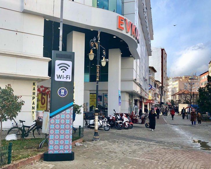 Kütahya'da ücretsiz wi-fi